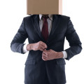 anonymous suit box head