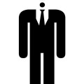 anonymous suit stickman
