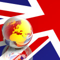 british glass globe