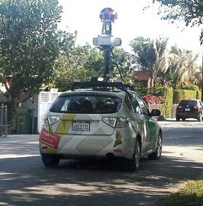 What's Google collecting about you while they drive down the road?