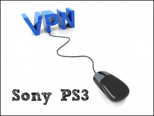 VPN for Sony PS3