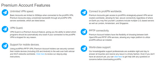 proXPN Review Features