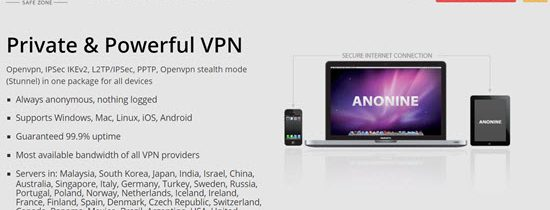 Anonine VPN Review